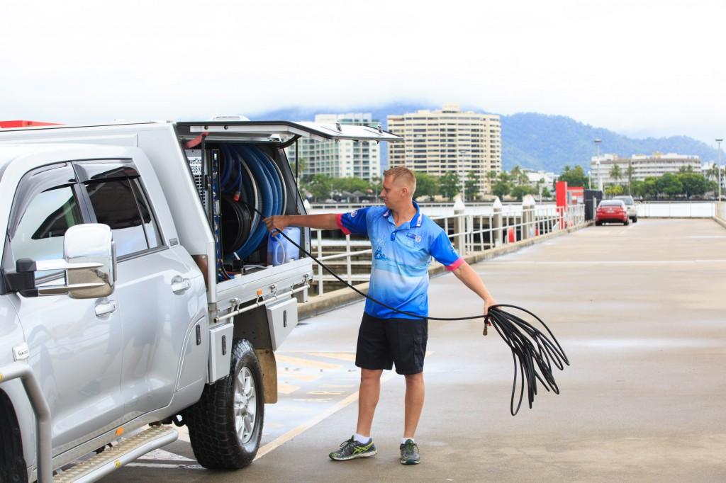 Wet Carpet Dryer Cairns Micahel Starke winding up hose